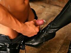 Submissive male porn - dominant females and humble men femdom galleries. Humiliation of sissy boys